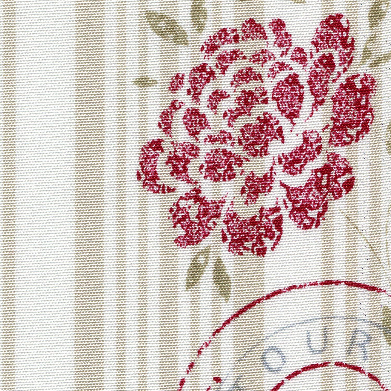 deko new charme 515731 160 rot dekostoffe sonnhaus. Black Bedroom Furniture Sets. Home Design Ideas