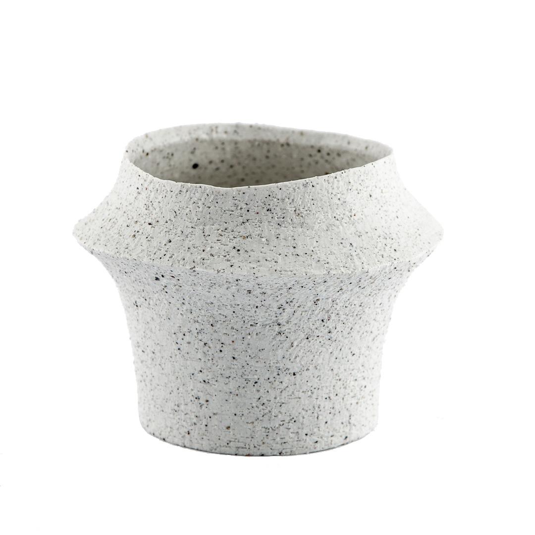 orchideen topf keramik weiss dekorartikel sonnhaus. Black Bedroom Furniture Sets. Home Design Ideas